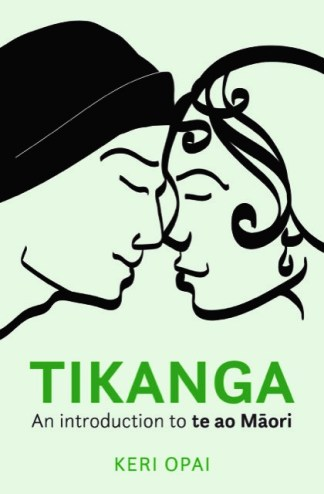 Product Cover Image: Two people stand in a traditional hongi position