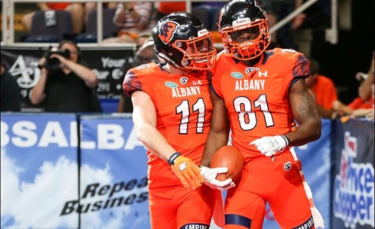 The Albany Empire fall one game short of making it to the Arena Bowl in their inaugural season. Photo: Robert Dungan/ The Upstate Courier