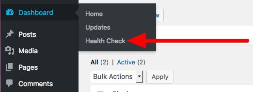 WordPress Health Check