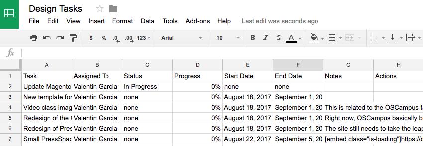 Upstream CSV file imported
