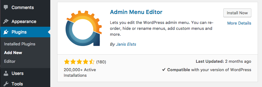 How To Edit And Rearrange Your WordPress Admin Menu