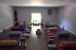 Restorative Yoga at Up the Hill Yoga