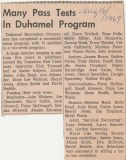 Duhamel Recreation Commission article Nelson Daily News Aug 16 1969 -P. Ormond files