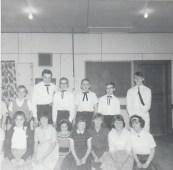Duhamel Recreation Commission square dancing St Andrews Church Hall, 1965 -P. Ormond files