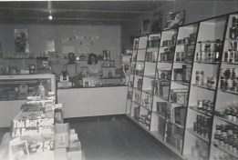 Question Mark Store, 1948 photo credit - Patsy Ormond
