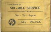 Six Mile Service ad