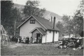 May Days in early 1940's? - still a one room school house