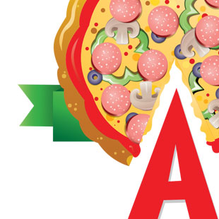 Pizza Shop Logo Refresh & Branding Redesign