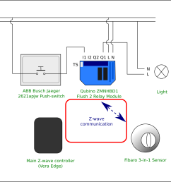 method 2 direct communication between motion sensor and relay module [ 2025 x 1550 Pixel ]