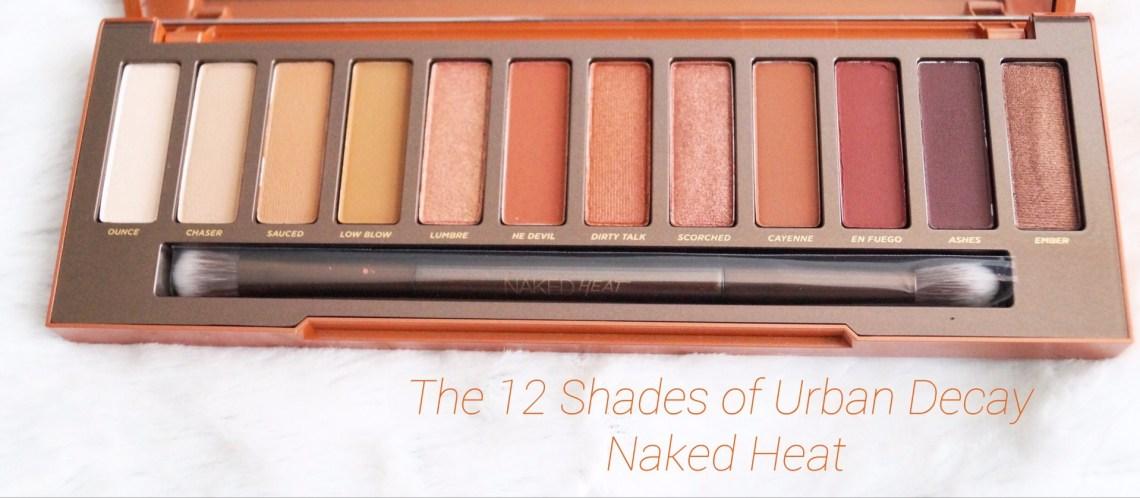 Urban Decay Naked Heat Shades