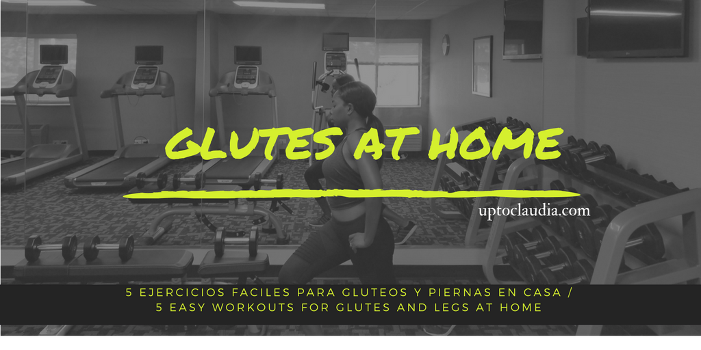 5 AT HOME WORKOUTS FOR GLUTES