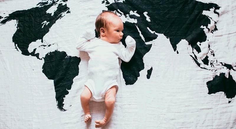 Conforto do recém-nascido. As necessidades do bebé.
