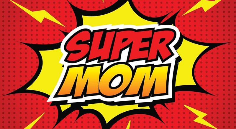 ser super mãe é uma treta