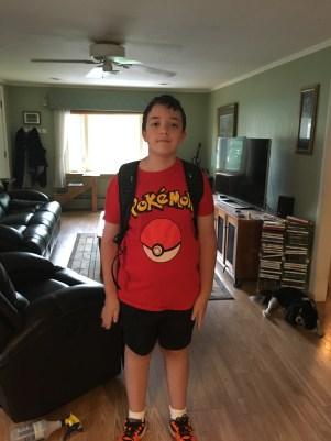 Nicholas Gillis 6th Grade at Miscoe