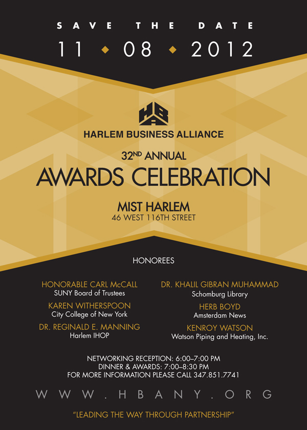 Save The Date! 32nd Annual HBA Awards Celebration – #