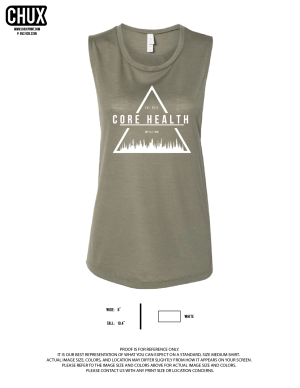 Core Health Bella Muscle Tank // Trifecta