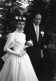Audrey Hepburn's Wedding Dress