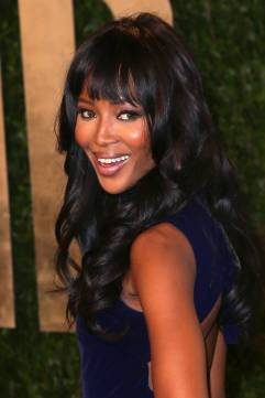 Hairstyles For Long Hair - Naomi Campbell