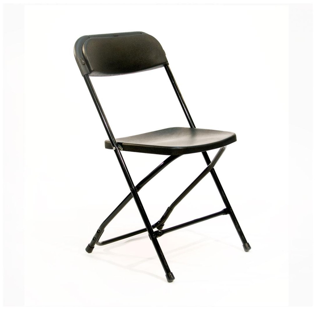 Black Folding Chairs Folding Chair Basic Black Uptown Rentals