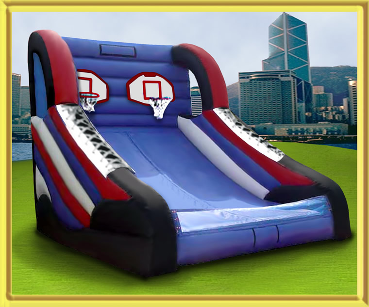 Inflatable Basketball  Uptown Rentals