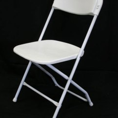 Black Resin Chairs Giant Deck Chair Folding Basic White - Uptown Rentals
