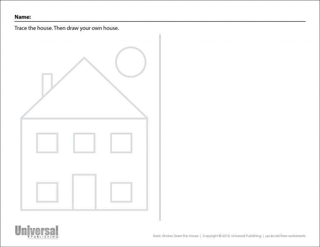 Basic Strokes Draw House