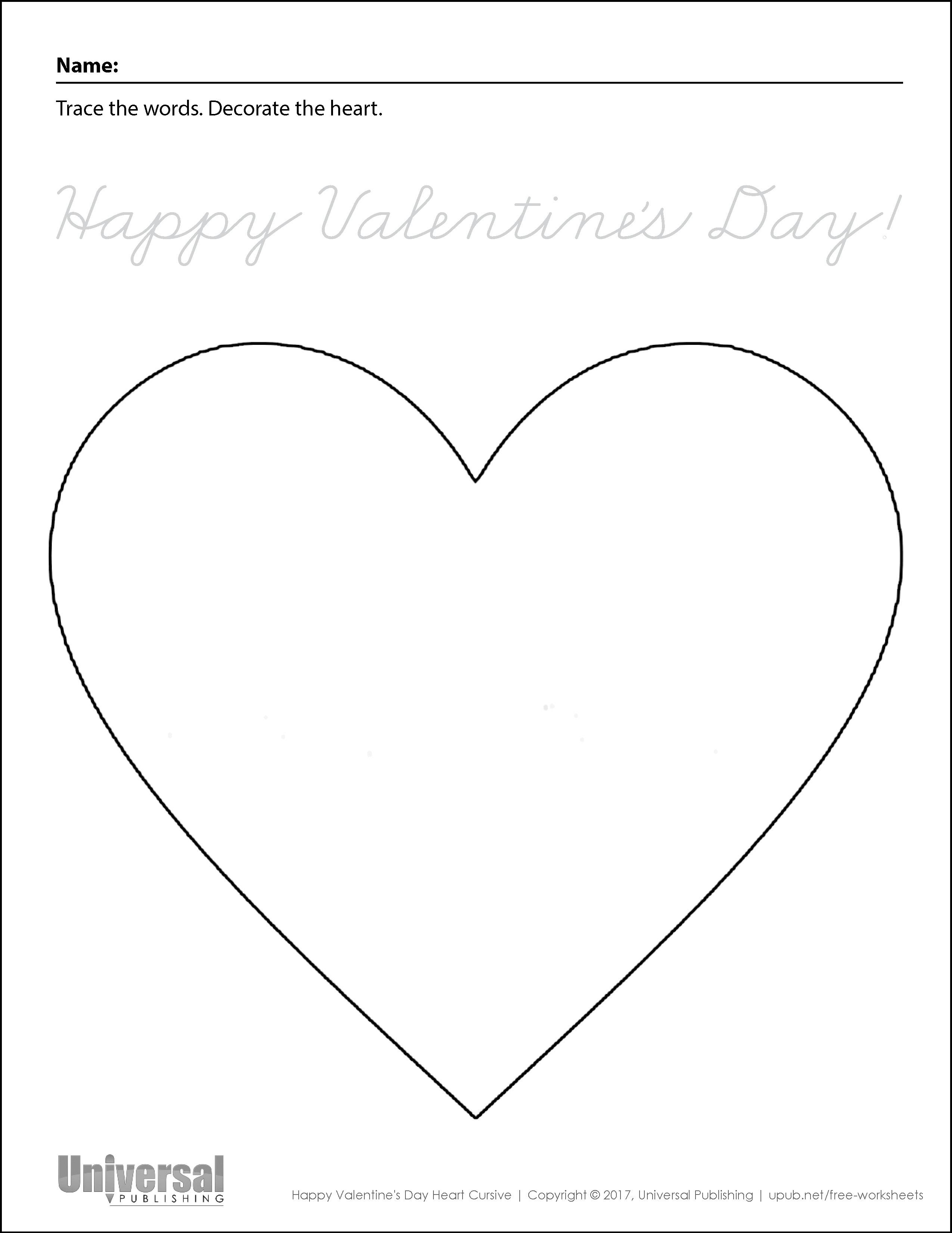 Valentine S Day Free Printables