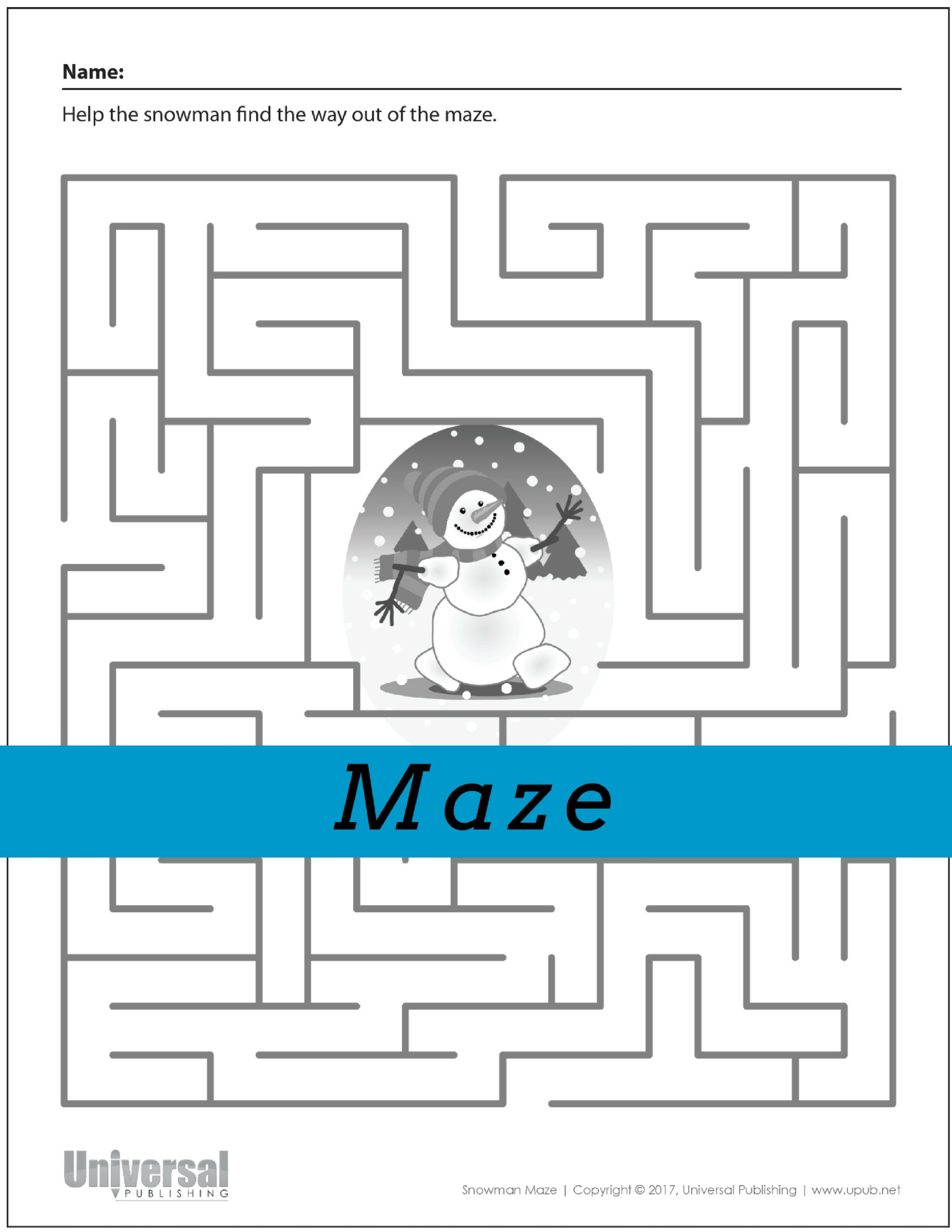 hight resolution of Create Maze Worksheets   Printable Worksheets and Activities for Teachers