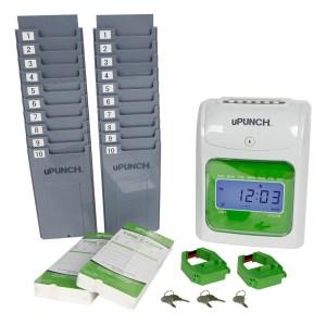 Time clock bundle, employee time card, time clocks