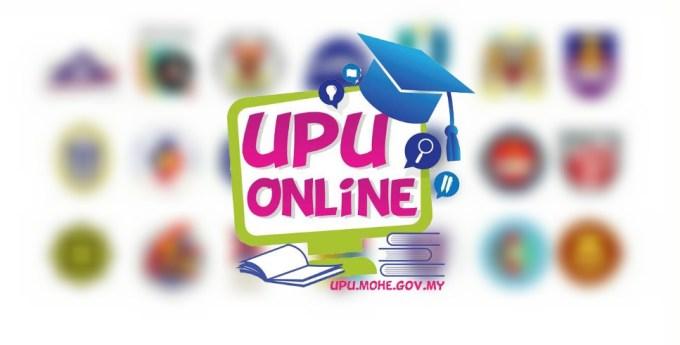 Permohonan UPU Sesi Akademik 2019-2020 Terkini