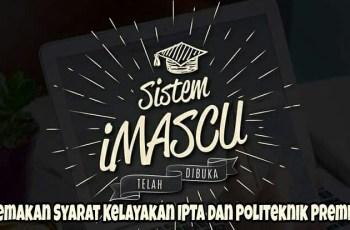 Semakan Syarat Kelayakan IPTA dan Politeknik Premier Lepasan SPM/ STPM & Setaraf