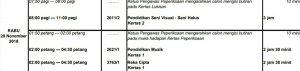 Jadual Waktu Peperiksaan SPM 2018 Rasmi