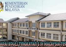 Senarai Kolej Tingkatan 6 di Malaysia Terkini