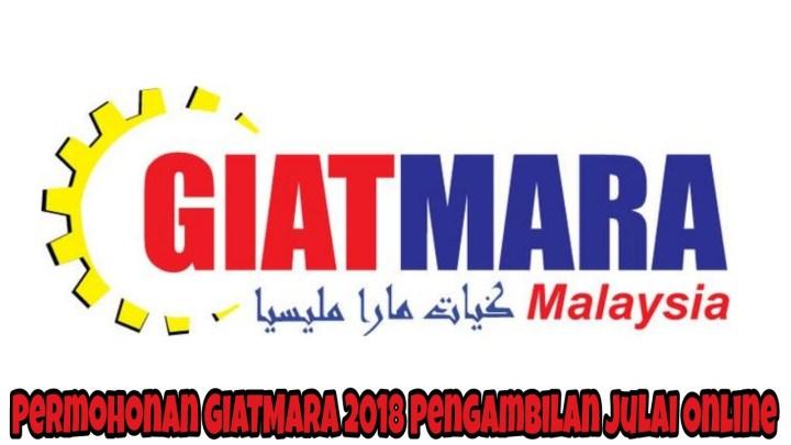 Permohonan GIATMARA 2018 Pengambilan Julai Online