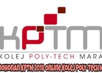 Permohonan KPTM 2018 Online Kolej Poly-Tech MARA