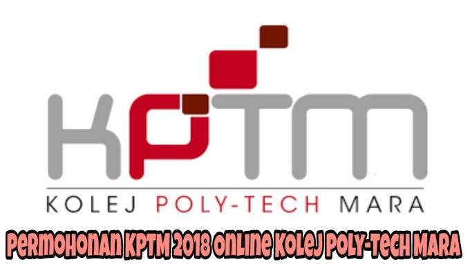 Permohonan KPTM 2019 Online Kolej Poly-Tech MARA