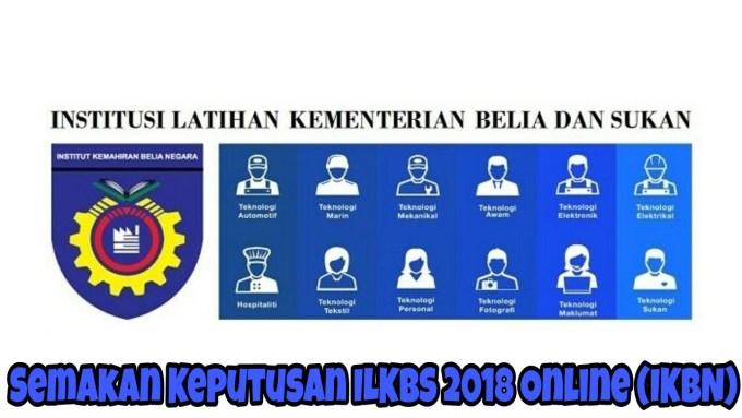 Semakan Keputusan ILKBS 2019 Online (IKBN)