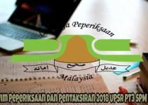 Takwim Peperiksaan dan Pentaksiran 2018 UPSR PT3 SPM STAM