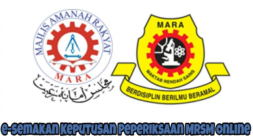e-semakan Keputusan Peperiksaan MRSM Online
