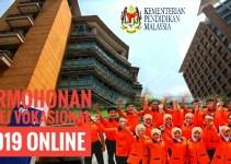Permohonan Kolej Vokasional 2019 Online
