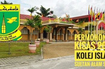 Permohonan KISAS 2019 Kolej Islam Sultan Alam Shah