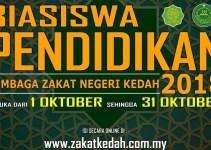 Permohonan Biasiswa Pendidikan Lembaga Zakat Negeri Kedah 2018