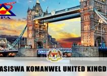 Permohonan Biasiswa Komanwel United Kingdom 2019 (Sarjana & PHD)