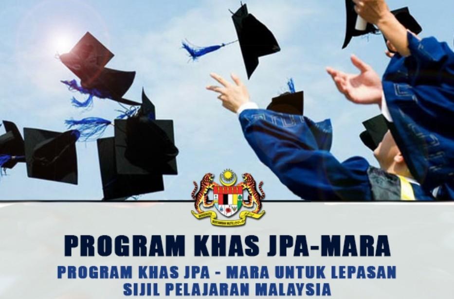 Permohonan Program Khas JPA-MARA 2019 (PKJM) Lepasan SPM