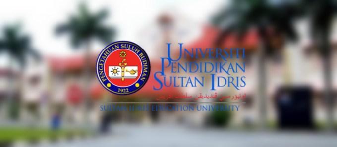 Syarat Kemasukan UPSI 2020 Lepasan SPM/ STPM/ Setaraf
