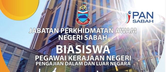 Permohonan Biasiswa Pegawai Kerajaan Negeri Sabah 2021 Online (Sarjana & PHD)