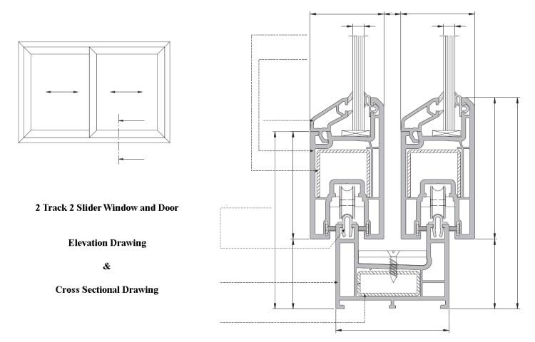 2 Track 2 Slider Window & Door