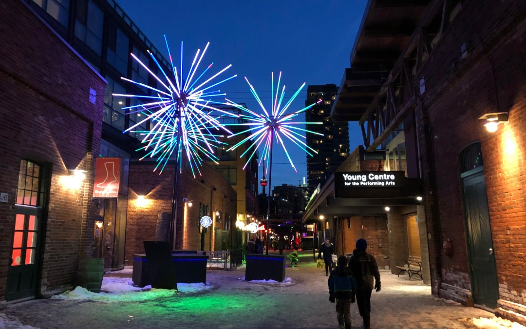 Toronto Light Fest with Kids in TOw