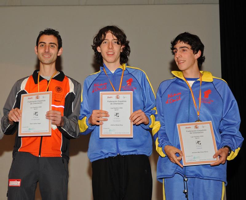 Podium Liga Nacional Sprint 2008 (www.fotogemperle.com)
