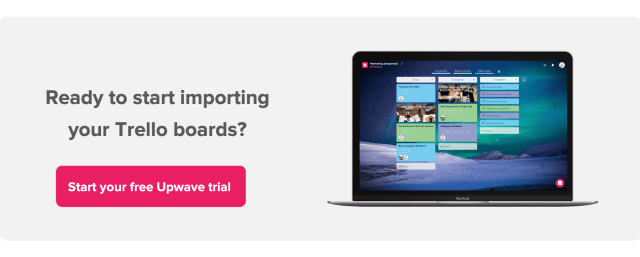 C2A - Import trello boards